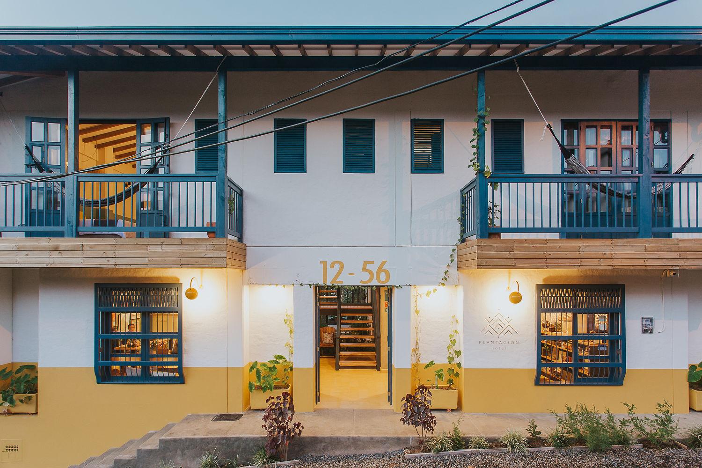 Fachada principal Hotel Plantacion