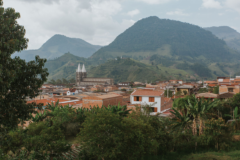 Vista desde la terraza Hotel Plantacion
